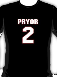 NFL Player Terrelle Pryor two 2 T-Shirt