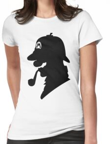 Super Mario Holmes Womens Fitted T-Shirt