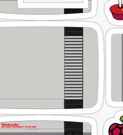 NES Skin for Official Raspberry Pi Case [GET THE MEDIUM SIZE] Sticker