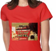 TRUMP MOTEL Womens Fitted T-Shirt