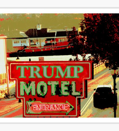 TRUMP MOTEL Sticker