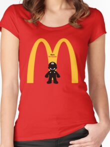 Mario The Founder Women's Fitted Scoop T-Shirt