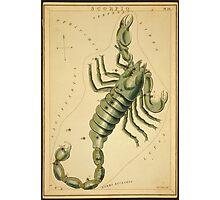 Scorpius Constellation, Zodiac Sign, 1825 Photographic Print