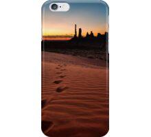 Walk the Walk - Monument Valley, Utah, USA iPhone Case/Skin