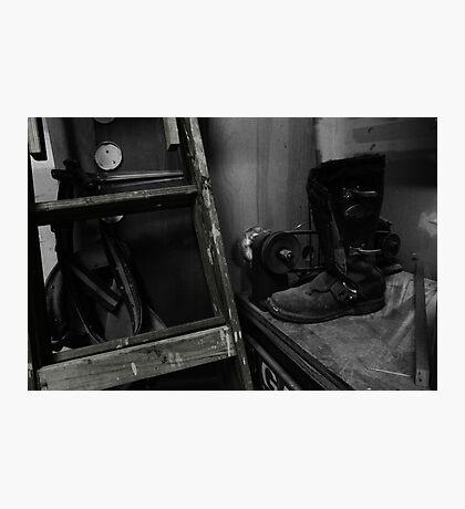 American Garage Photographic Print