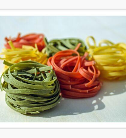 Multicolor Noodles Sticker