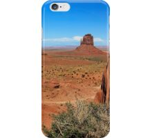 Between Sand and Sky - Monument Valley, Utah, USA iPhone Case/Skin