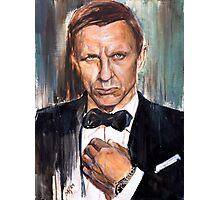 007 James Bond Photographic Print