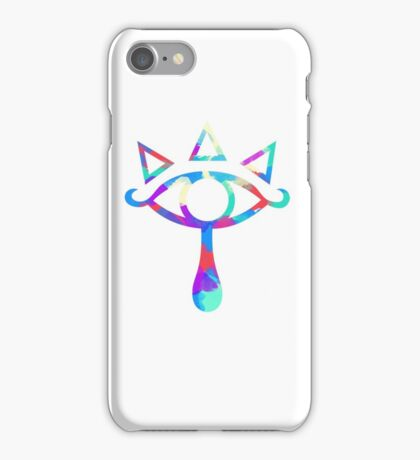 Eye of Truth Paint iPhone Case/Skin