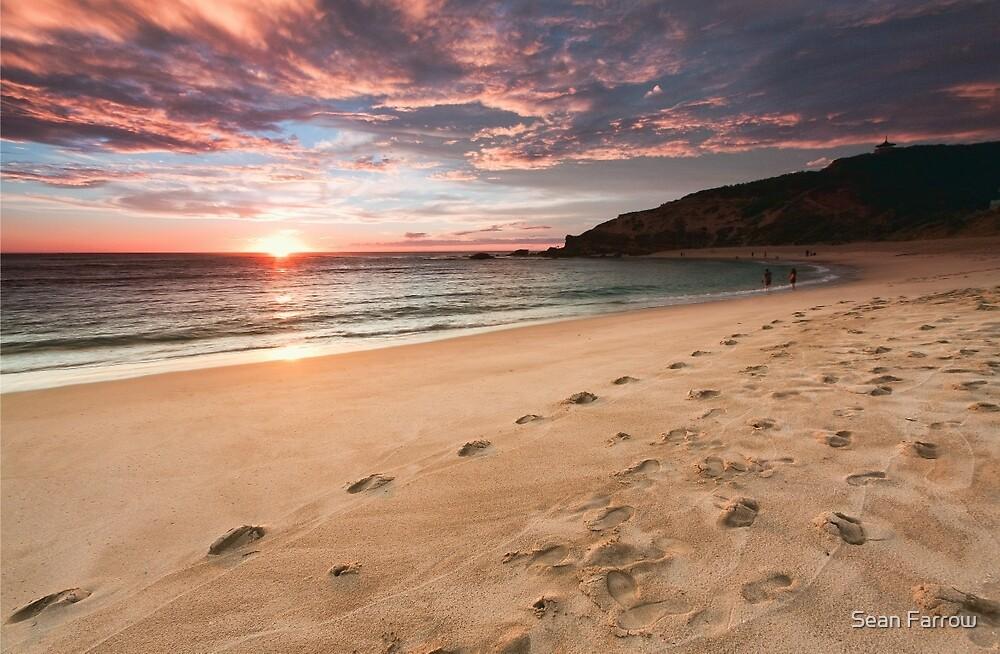 A Stormy Beachside Stroll by Sean Farrow