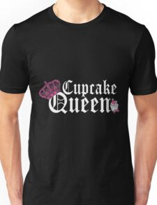 Cupcake Queen Baking Cooking Unisex T-Shirt
