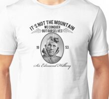 Rock Climbing It's Not The Mountain We Conquer Unisex T-Shirt