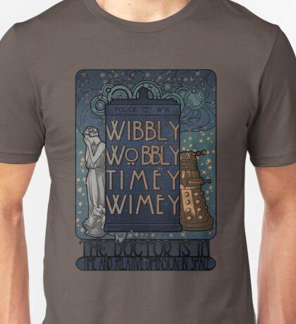 TARDIS art nouveau Unisex T-Shirt