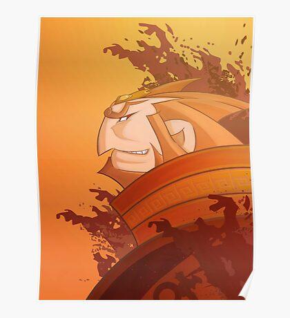 Ganondorf Wind Waker illustration Poster