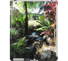 Water Feature, Thursday Plantation. Ballina. N.S.W. Nth. Coast. iPad Case/Skin