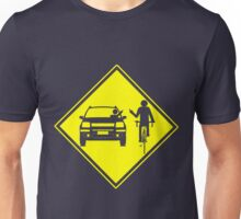 Cycling Cyclist Funny Road Rage Unisex T-Shirt