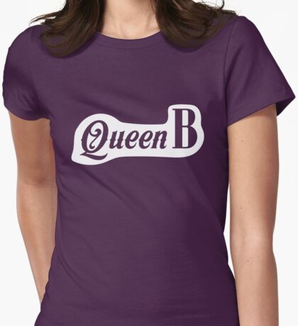 Queen B Womens Fitted T-Shirt