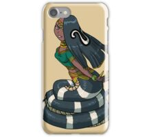 Female Cobra Naga MONSTER GIRLS Series I iPhone Case/Skin