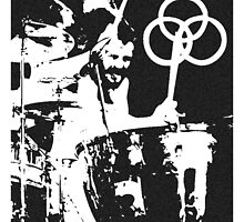 John Bonham Led Zeppelin by TalesOfTheEast
