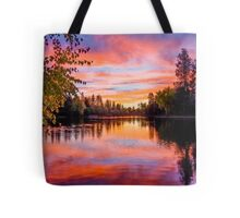 First Brilliance: Mirror Pond Tote Bag