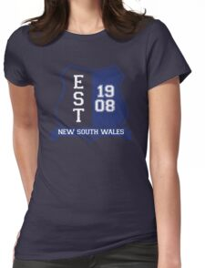 New South Wales Rugby League: Established Shield Womens Fitted T-Shirt