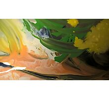 Green, Tans and Yellows #1 Photographic Print