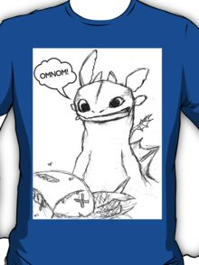 How To Train Your Dragon - Toothless Sketch Style Shirt T-Shirt