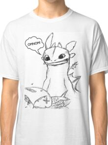 How To Train Your Dragon - Toothless Sketch Style Shirt Classic T-Shirt