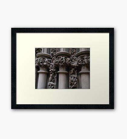 Column Framed Print
