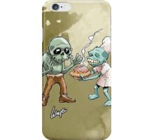 Zombies Share Pie 2 iPhone Case/Skin