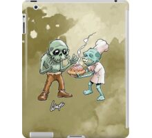 Zombies Share Pie 2 iPad Case/Skin