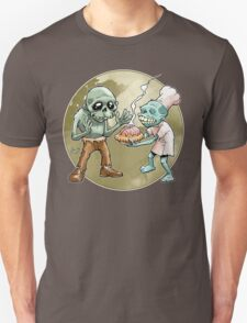 Zombies Share Pie 2 Unisex T-Shirt