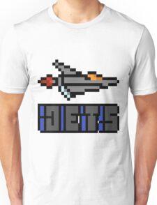 The Jets - Pixels Unisex T-Shirt