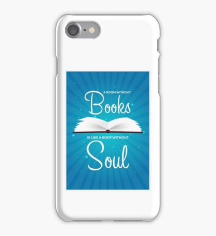Book poster iPhone Case/Skin