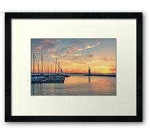 The Day is Done Framed Print