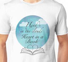 Heart in a book Unisex T-Shirt