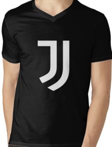 new logo juve Mens V-Neck T-Shirt