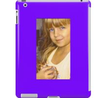 """Tay with Her Precious Hamster Angel""  iPad Case/Skin"