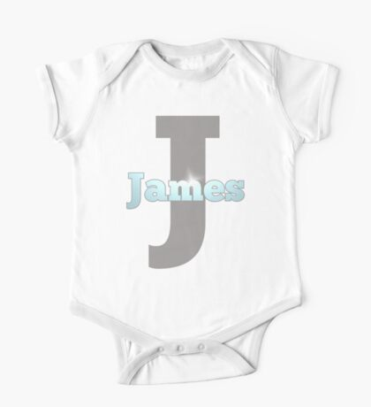 My baby boy James is a Superstar One Piece - Short Sleeve