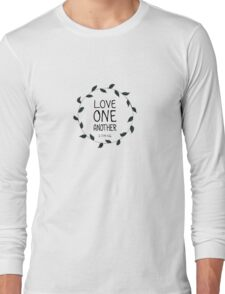 1 John 4:11 Long Sleeve T-Shirt