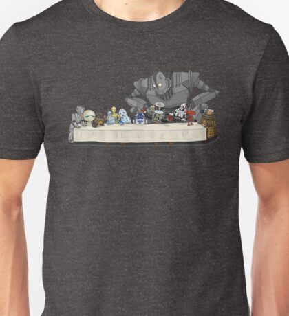 the Last Supper...with ROBOTS Unisex T-Shirt
