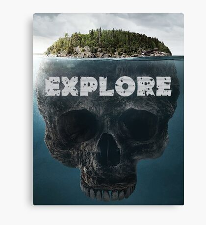 Scull Island Explore Canvas Print