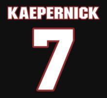 NFL Player Colin Kaepernick seven 7 by imsport