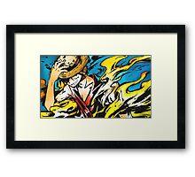 Luffy Framed Print
