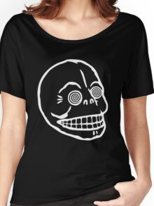 "Cheap Monday's ""Hypno Skull Cap"" (black) Women's Relaxed Fit T-Shirt"