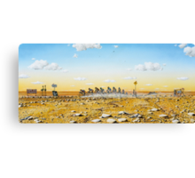 Tour De Outback Canvas Print