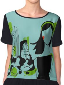 Central Park NYC Edition - I LOVE NEW YORK COLLECTION Chiffon Top