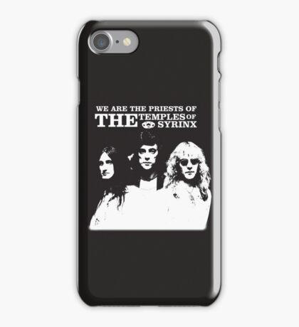 Rush Band Priests Syrinx iPhone Case/Skin