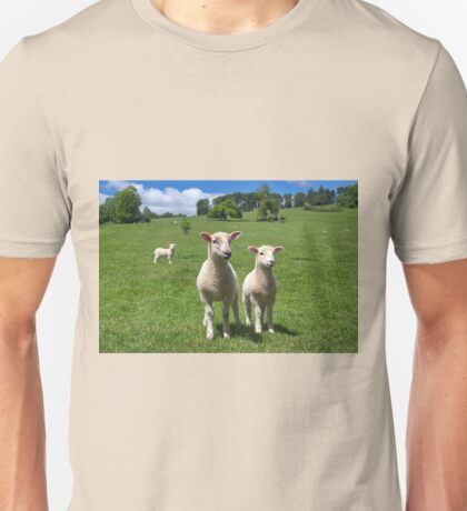 Lambs In Summertime  Unisex T-Shirt