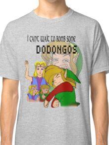 Bombing Dodongos (Black Text) Classic T-Shirt